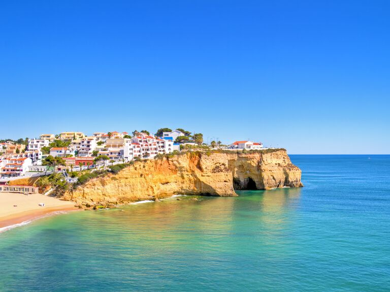 Algarve Portugal honeymoon destination