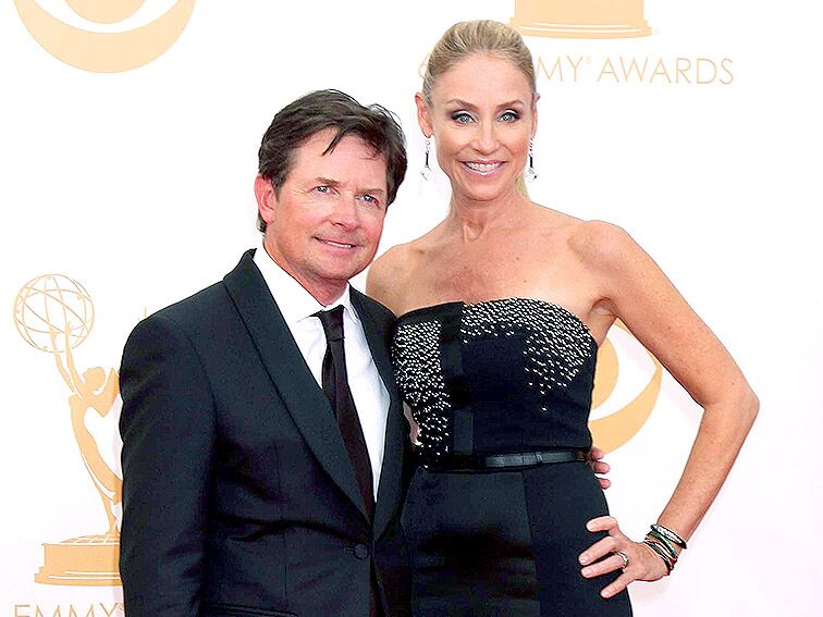 Michael J. Fox and Tracy Pollan famou celebrity couples