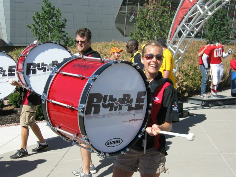 KC Chiefs Rumble Drumline