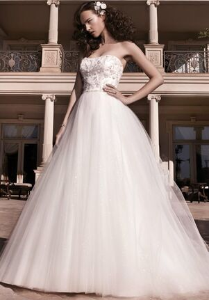 Casablanca Bridal 2137 Ball Gown Wedding Dress