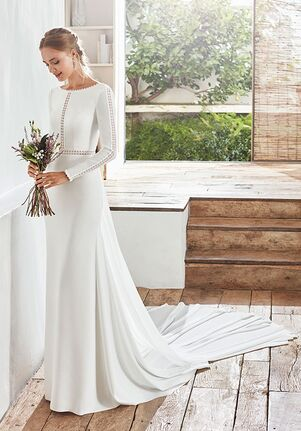 Rosa Clará Boheme CABRI Sheath Wedding Dress