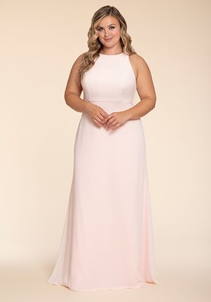 Hayley Paige Occasions W714 Halter Bridesmaid Dress