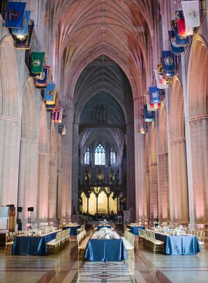 Reception at the Washington National Cathedral in Washington, DC