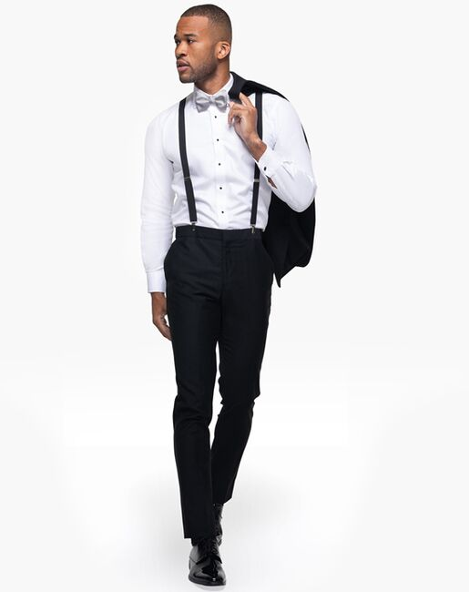 Generation Tux Black Notch Lapel Tuxedo Black Tuxedo