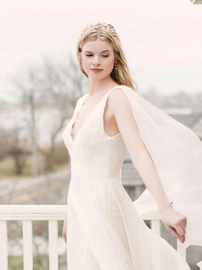 Luna Bleu Spring 2019 Collection Bridal Fashion Week Photos