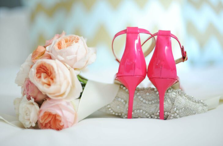 Manolo Blahnik Bright Pink Heels