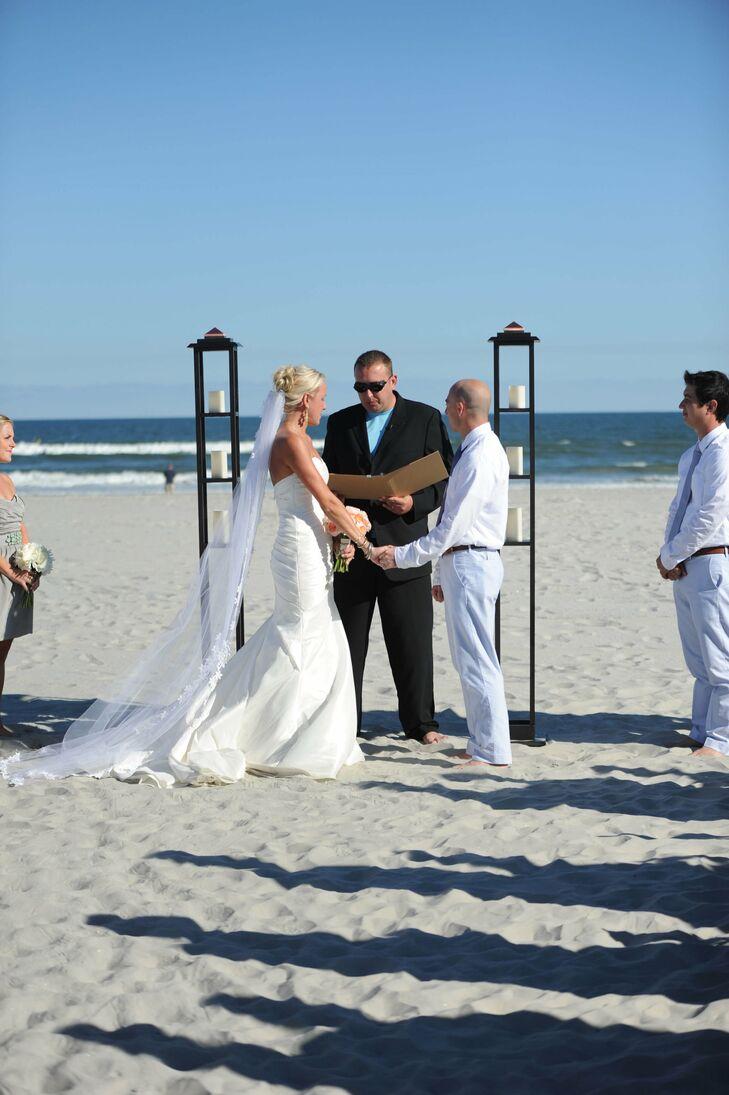 97th Street Beach Wedding Ceremony