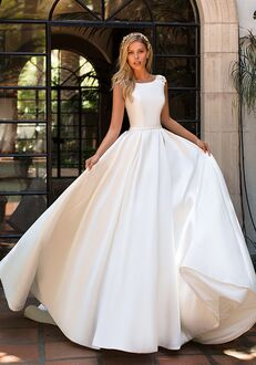 Moonlight Collection J6701 Ball Gown Wedding Dress
