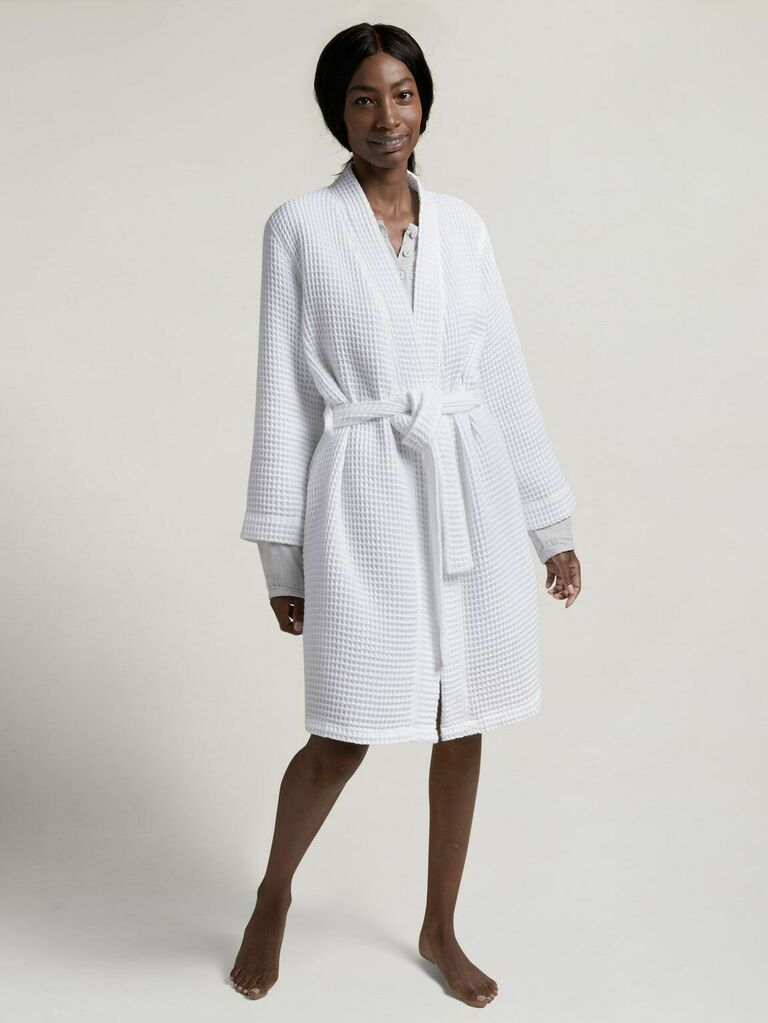 white Parachute robe gift for wife