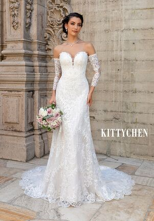 KITTYCHEN ERICA, H2047 Sheath Wedding Dress