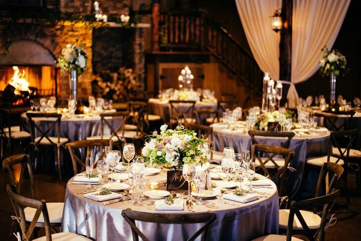 Chic Rustic Reception at Spruce Mountain Ranch