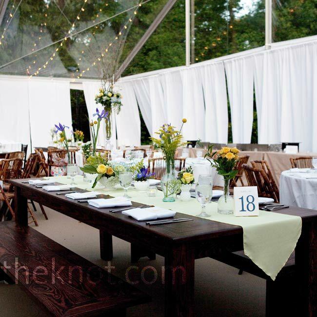 Rustic Banquet Reception