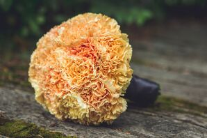Yellow Carnation Bridesmaid Bouquet