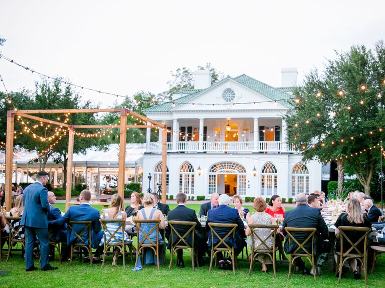 Backyard Wedding Receptions backyard wedding receptions: secrets to planning an at-home wedding
