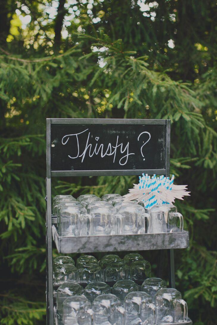 Chalkboard Cocktail Hour Sign