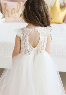 FATTIEPIE Keyholeback Flower Girl Dress