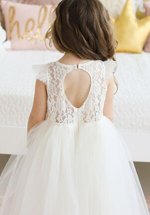 FATTIEPIE Keyholeback Flower Girl Dress