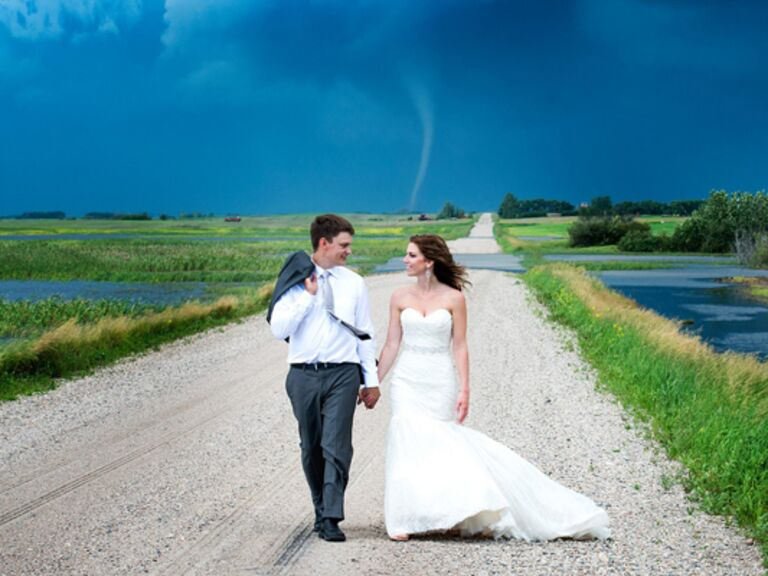 Hurricane on Your Wedding Day? Here's What To Do