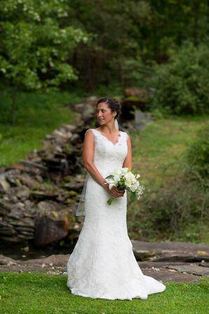 Classic Lace Lillian West Wedding Dress