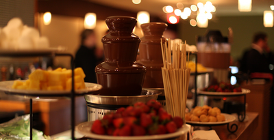 A Taste of Chocolate - Chocolate fountain