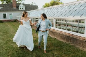 Same-Sex Couple Portraits for Wedding in Hartford, Connecticut