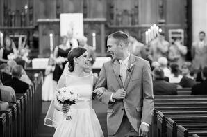 Kate and Julian's Classic Church Wedding