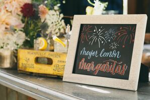 Fourth of July Signature Cocktail Sign
