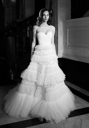 Viktor&Rolf Mariage DREAMY SMOCKED TULLE GOWN A-Line Wedding Dress