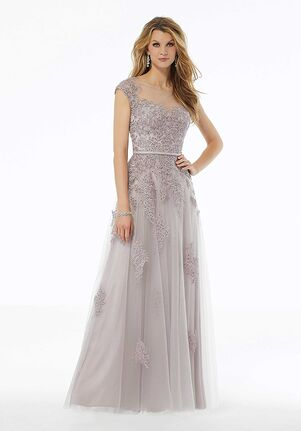 MGNY 72123 Pink Mother Of The Bride Dress