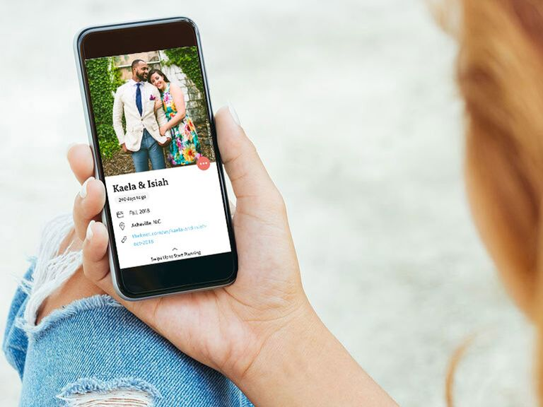 The Knot Wedding Planner app