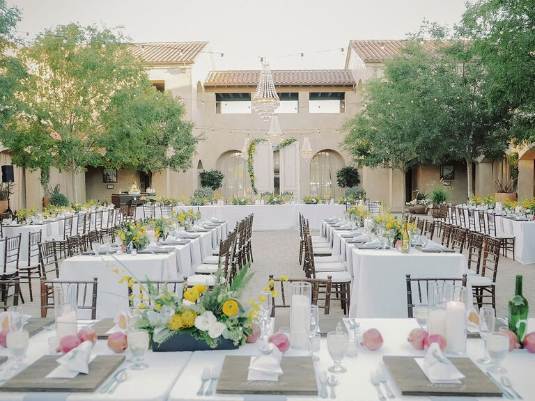 Wedding Receptions Tables.7 Tips On How To Seat Your Wedding Reception Guests