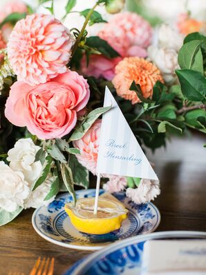Preppy Sailboat Place Settings