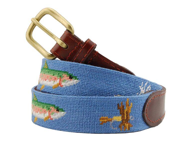 Unique belt best man gift idea