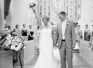 Since Laura McCabe (22, a wedding venue coordinator) and Satchel Stump (23, a football video coordinator) met at Elon University and got engaged at La