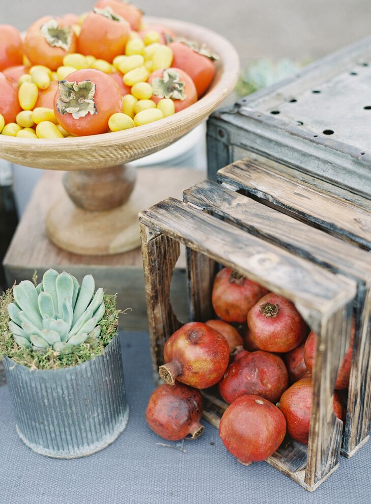 Fall Fruit and Vegetable Décor