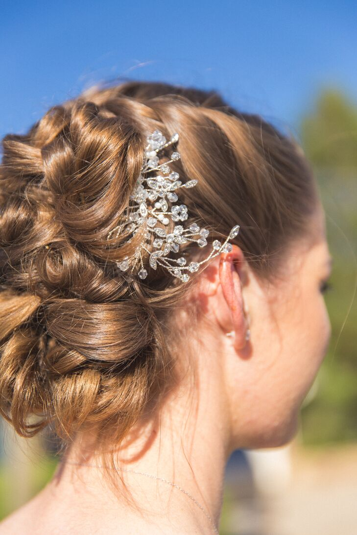 Crystal Hair Accessory, Updo