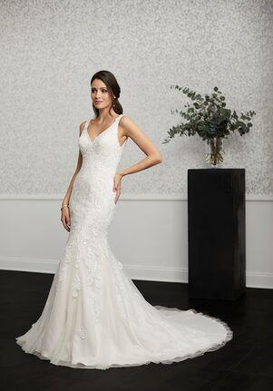 Adrianna Papell Platinum 31120 Sheath Wedding Dress