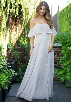 Hayley Paige Occasions 5854 Scoop Bridesmaid Dress