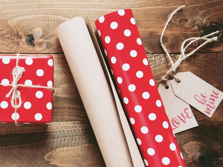 Valentines Day Wrapping Paper
