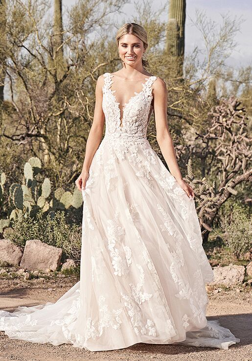 Lillian West 66163 Wedding Dress