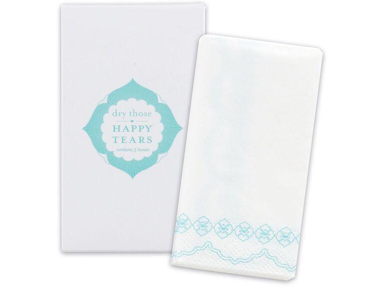 Wedding tissue pack