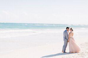 Blush Watters Wedding Dress