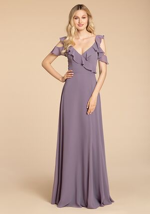 Hayley Paige Occasions 5959 Off the Shoulder Bridesmaid Dress