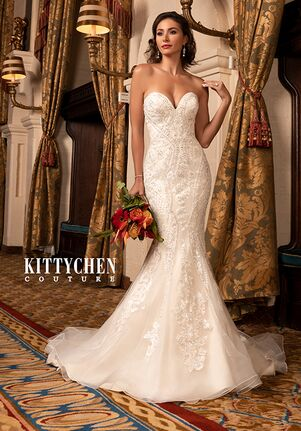 KITTYCHEN Couture JASMINE, K2037 Mermaid Wedding Dress