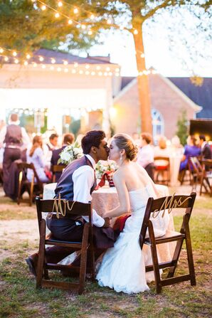 Outdoor Wedding at Leslie-Alford-Mims House