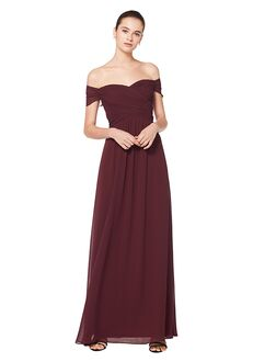 Bill Levkoff 7071 Off the Shoulder Bridesmaid Dress