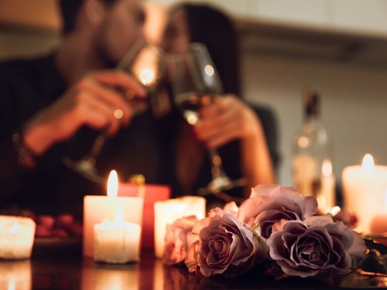 date night at home how to get partner to propose