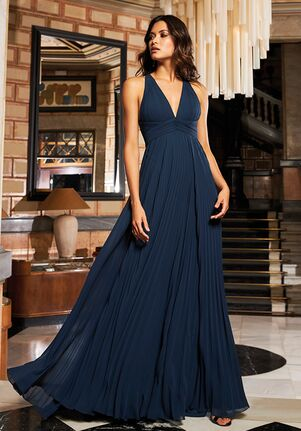 THE PARTY EDIT TD STYLE 136 Halter Bridesmaid Dress