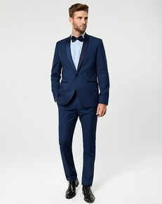 LE CHÂTEAU Wedding Boutique Tuxedos MENSWEAR_360364_019 Blue Tuxedo
