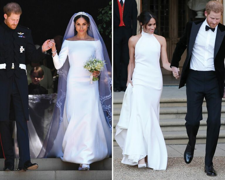 0745fe7584798 The 54 Best Celebrity Wedding Dresses of All Time